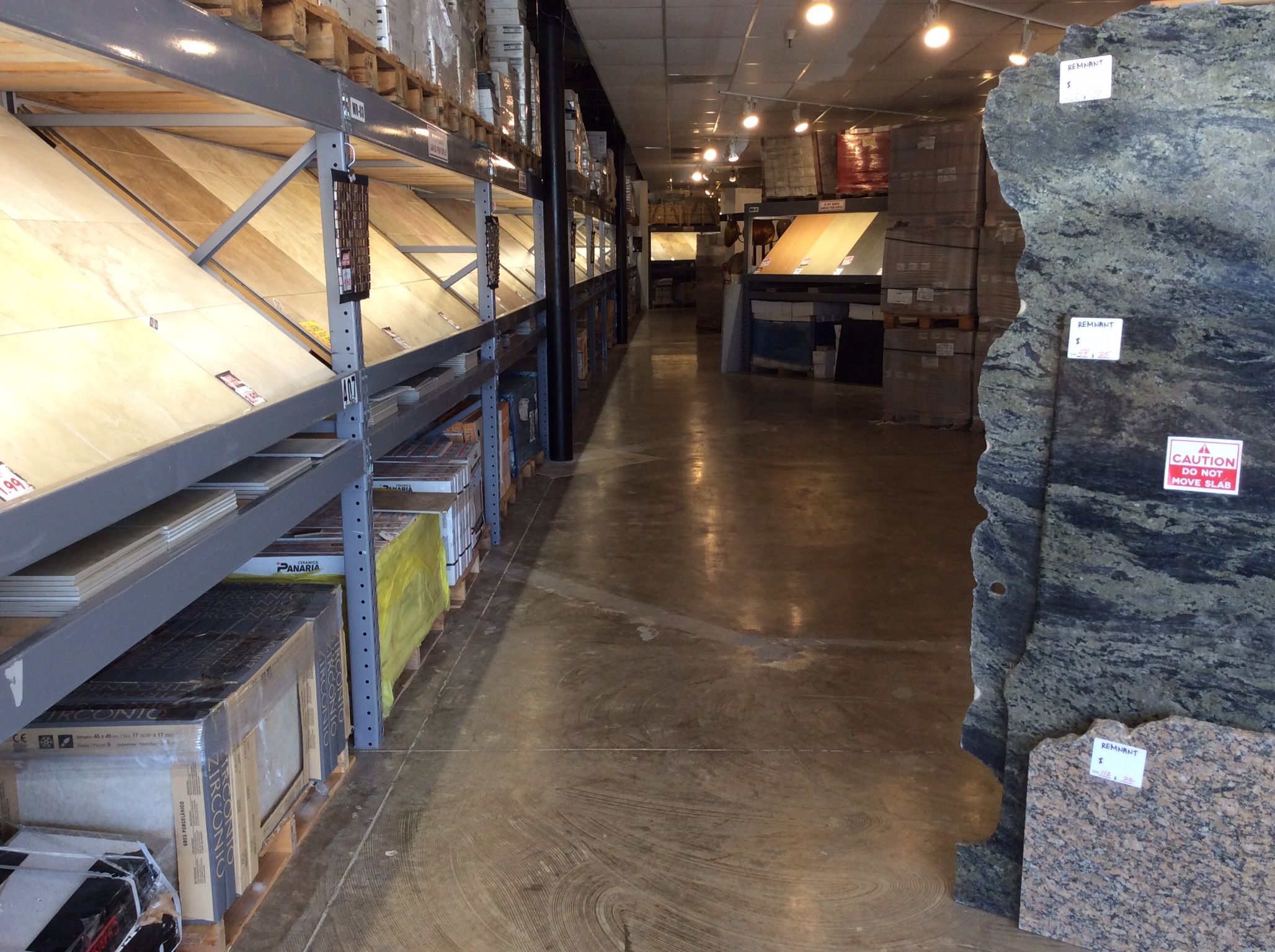 Ged's Floor Store Tile Department