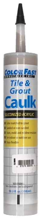 ColorFast Sanded Grout Caulk
