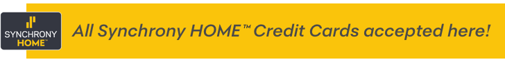 Synchrony HOME Credit Cards accepted here