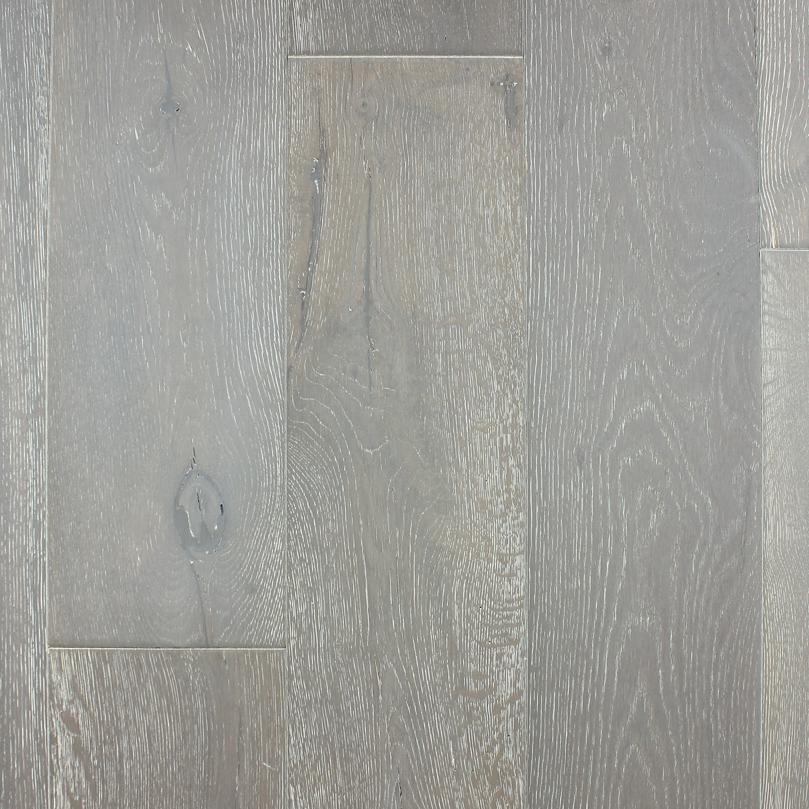 The Wirebrushed Series Oak Ivory Engineered Hardwood Flooring