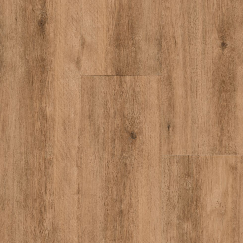 Unleashed LVT  Friendship Oak Amber Vinyl Plank Flooring