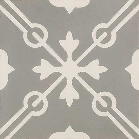 Memory Cross Smoke Cement Tile