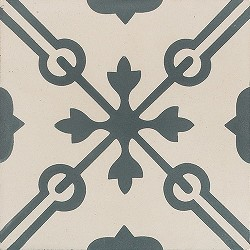 Memory Cross Storm Cement Tile
